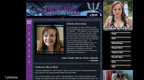 cythereaswetworld.com